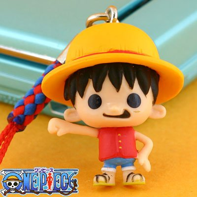 ONE PIECE x bread loss works Netsuke Strap Vol.3 (Rufigomu) (japan import)