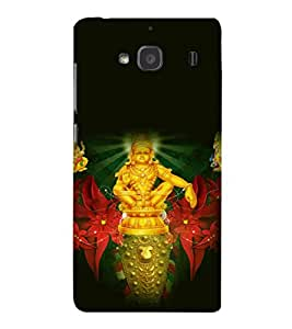 printtech Lord Murugan South India Back Case Cover for Xiaomi Redmi 2S::Xiaomi Redmi 2::Xiaomi Redmi 2 Prime