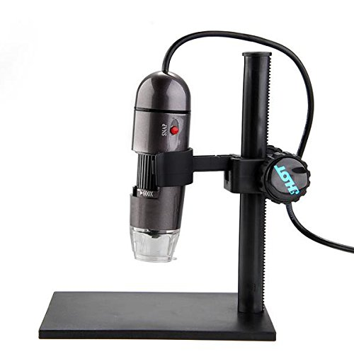 600X Usb Microscope Endoscope Magnifier Digital Camera 2Mp 8Led For Vista Win Xp