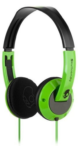 Skullcandy Uprock Headphones - Green/Black
