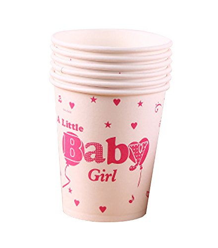 Paper Cup Bébé Party Girl Drink Cups Set Of 10