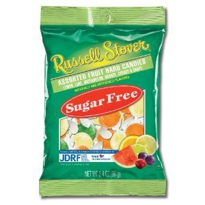 Russell Stover Sugar Free Assorted Fruit Hard Candies 12-ounce Bags Pack Of 3 by Russell Stover
