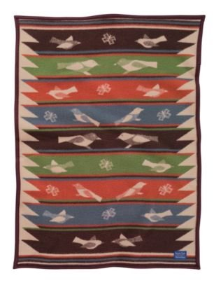 Pendleton Bird Song Crib Blanket - 1