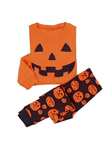 Little Hand®Bambini Ragazzi Halloween Costume Zucca Stampa Travestimento Play Costumi / Pigiami Pigiameria 1-7 Anni