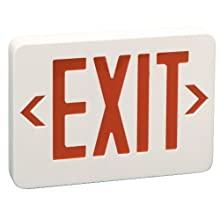 Preferred Industries E1025R LED Red Exit Sign