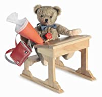 Herman School Boy Teddy Bear 19cm (japan import) from Herman teddy bear