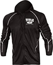 TITLE Fury Featherweight Zip-Up Hoody, XX, BK