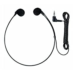 Olympus E 102 - Headphones ( vertical ) - black