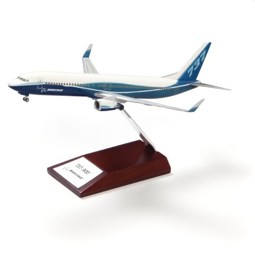 737-900 Snap-Together Model with Wood Base (Boeing 737 Model compare prices)