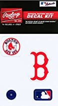Rawlings Sporting Goods MLBDC Decal Kit, Boston Red Sox