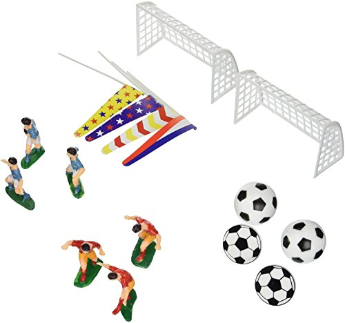 Oasis Supply Company Boys Soccer Birthday Cake Kit (Birthday Supplies Soccer compare prices)