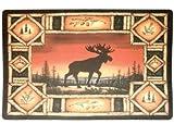 Moose Indoor Comfort Foam Floor Mat Rug, 4mm Thick, 18x27-inch