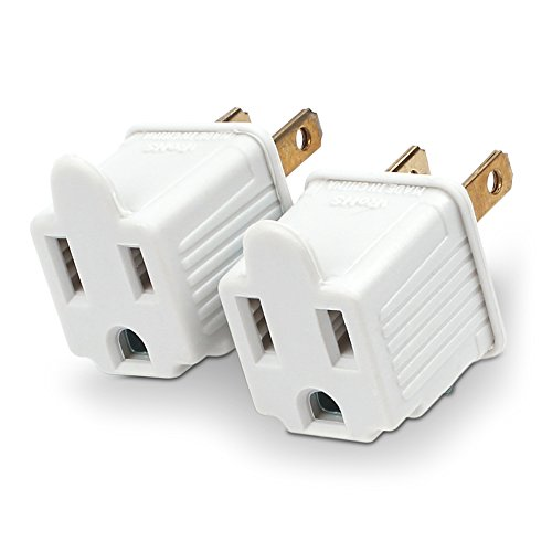 CyberPower MP1043WW Grounding Adapter 2-Pack (2 Prong Polarized Plug compare prices)