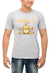 Shop Your Style Men's Cotton T-Shirt (ZYN00B16_XL, Grey, X-Large)