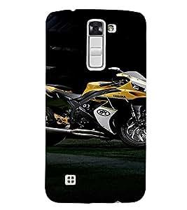 EPICCASE Yamaha Cases Mobile Back Case Cover For LG K10 (Designer Case)
