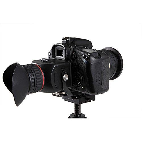 "Zonman® High Quality Foldable 3""/ 3.2"" Lcd Viewfinder 3X Magnification For Canon Eos 5D Ii 5D Iii 6D 7D 70D 60D 600Da 700D 600D 100D 1100D M G1X Nikon D3200 D5300 D5200 D5100 D600 D800 D700 D7000 D300S D9 J1 V1 Olympus E-5 E-P3 Lumix Dmc-Gf5 G1"