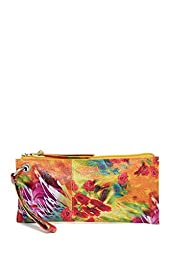 HOBO Vintage Vida Clutch , Watercolor Floral