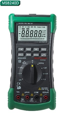 Mastech MS8240D Autoranging Digital Multimeter with USB Interface