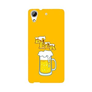Skintice Designer Back Cover with direct 3D sublimation printing for HTC Desire 626