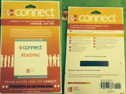 Connect Reading 2.0 Access Card