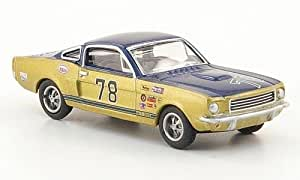 ford shelby mustang gt350 blau gold modellauto. Black Bedroom Furniture Sets. Home Design Ideas