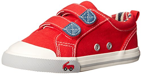 See Kai Run Hess II Sneaker (Toddler), Red, 5 M US Toddler