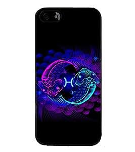 ifasho Designer Phone Back Case Cover Apple iPhone 5 ( Wolf Man Full Moon )