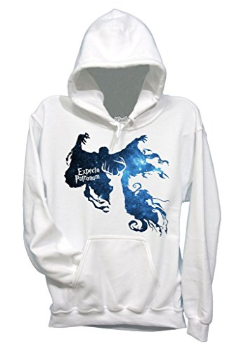 Felpa EXPECTO PATRONUM HARRY POTTER - FILM by Mush Dress Your Style - Donna-S-Bianca