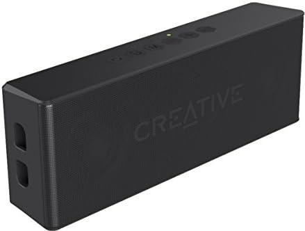 Creative MUVO 2ブラック クリエイティブ ミューボ ツー Bluetooth 防水 防塵 IP66 相当 バスラジエーター搭載 ステレオ ポータブル ワイヤレス スピーカー  SP-MV2-BK