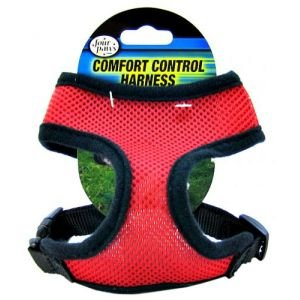 Comfort Control Harness Size: Medium, Color: Red (Medium Size Harness compare prices)