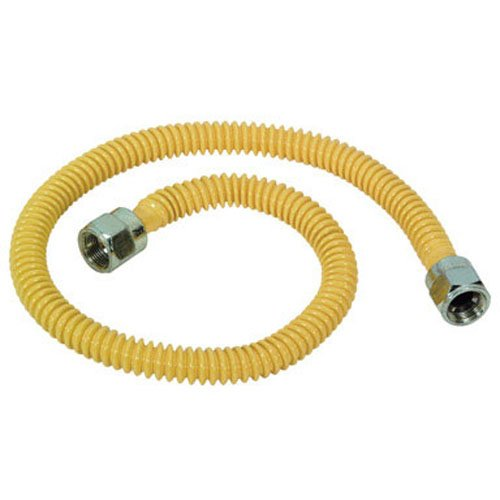 Brass Craft Csstnn-34N Coated Stainless Steel Gas Connector 34""