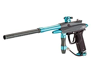 Azodin KDII Semi-Auto Paintball Marker - Grey / Cyan
