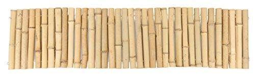 Bordure de plate-bande en bambou Windhager, 120 x 30 cm
