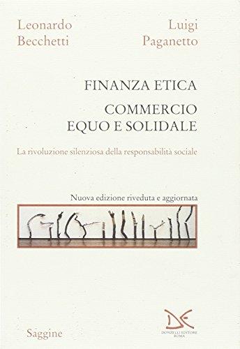 Finanza etica. Commercio equo e solidale