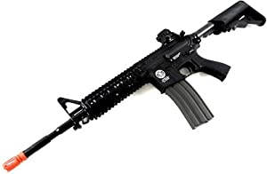 G&G Airsoft Combat Machine M4 Raider High-Performance Full Metal Gearbox AEG Rifle w/ Integrated RAS and Crane Stock
