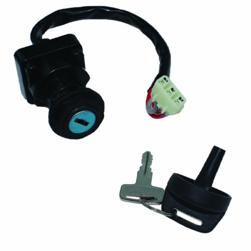Caltric IGNITION KEY SWITCH Fits ARCTIC CAT 500 4X4 FIS MRP TRV TBX LE 2000-2006 AUTOMATIC NEW (Ignition Switch Arctic Cat compare prices)