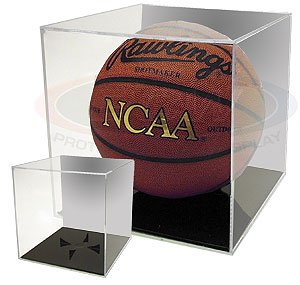 Buy Collectible NCAA - NBA Basketball Holder - Mirrored Back Display Case by BallQube
