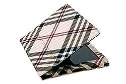 BMS New Multi Color Designer PU Leather Flip Book Case Cover for Ipad 3