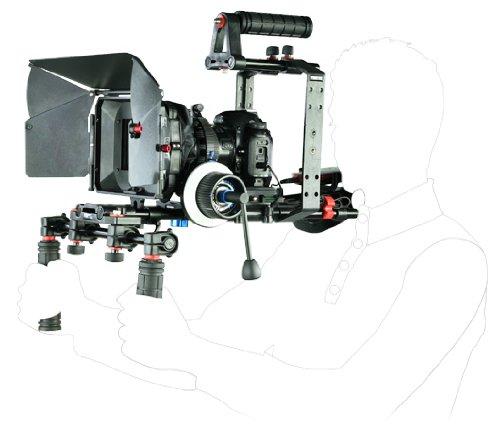 Filmcity Dslr Rig Video Camera Shoulder Mount Kit Fr 7D 5D Gh2 Gh1 D60 Pd150 Ex3 Ex1 550D(Fc-57-N)