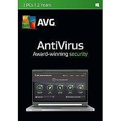 AVG AntiVirus 2016 - 3 PCs/1 Year