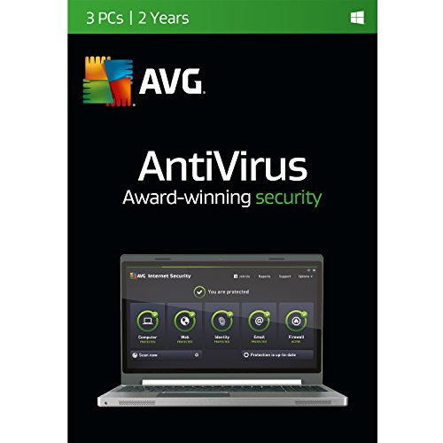 AVG Antivirus | 3 PCs | 2 Years (Avg Antivirus Software compare prices)