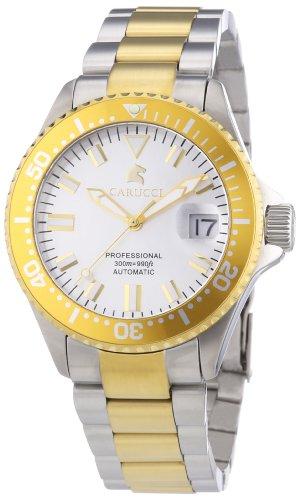 Carucci Watches CA2200BC - Reloj de pulsera mujer, revestimiento de acero inoxidable, color multicolor