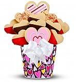Valentine's Day Gourmet Cookie Bouquet