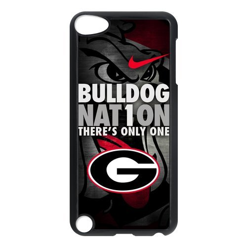 NCAA Georgia Bulldogs There is Only One Quote Slim Hard Durable One Piece Case Covers for IPod Touch 5th Generation (Ipod 5th Generation Bulldog Cases compare prices)