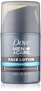 Dove Men+Care Hydrate + Face Lotion, 1.69 Oz