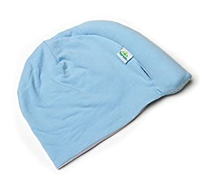 Tortle Repositioning Beanie - FDA cleared to Prevent and Treat Flat Head Syndrome - Baby Blue - MD