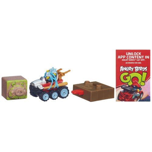 Angry Birds Go! Jenga The Blues' Off Roadster Game