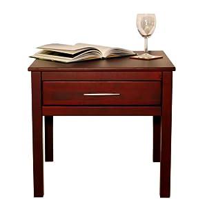 KYOTO - Solid Wood Storage End / Side / Bedside Table