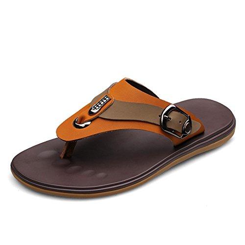 Nouvelles tendances en chaussons de plage l'été/Tongs de la mode/Orteil de pantoufles pour hommes