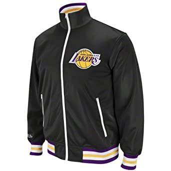 Los Angeles Lakers Mitchell & Ness Preseason NBA Track Jacket by Mitchell & Ness